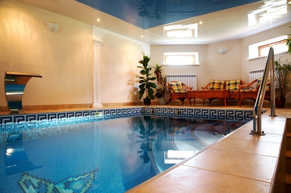 Cost to install an indoor swimming pool estimates and - How much does a swimming pool cost in texas ...
