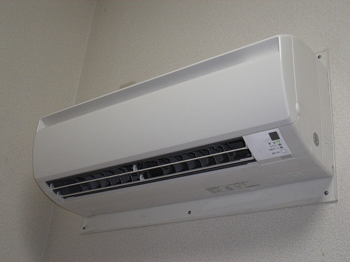 Cost to install a ductless air conditioning estimates for Air conditionn mural