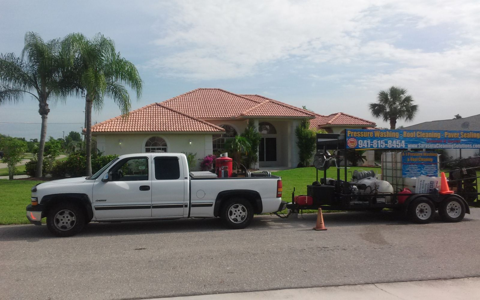 Exterior Maintenance And Cleaning In North Port Fl A 1