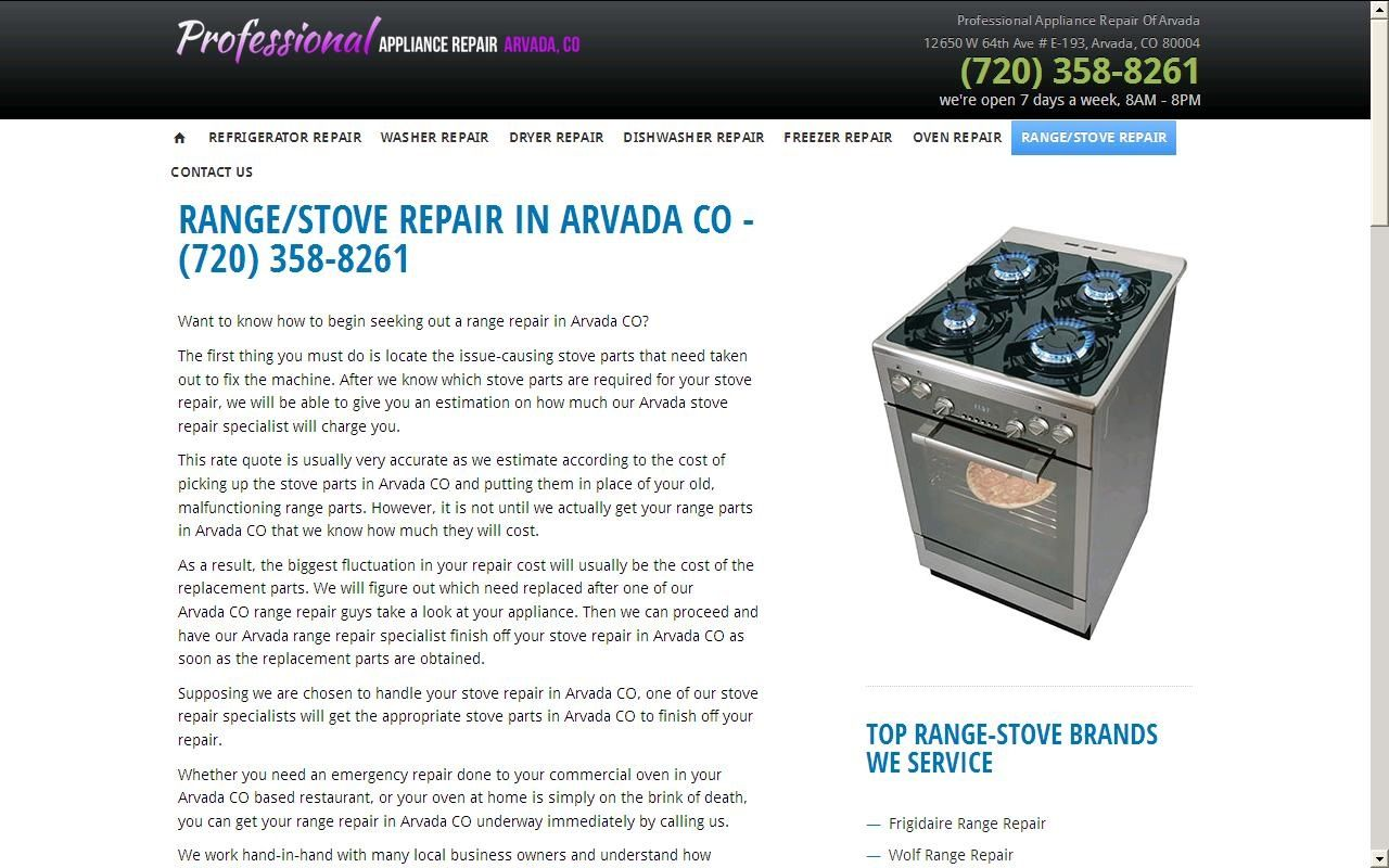 Home Appliance Repair In Arvada Co Professional