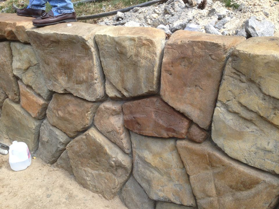 Poured Concrete Retaining Wall Cost images