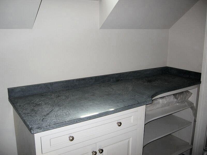 Custom soapstone countertop in little falls nj the for Kitchen depot little falls nj