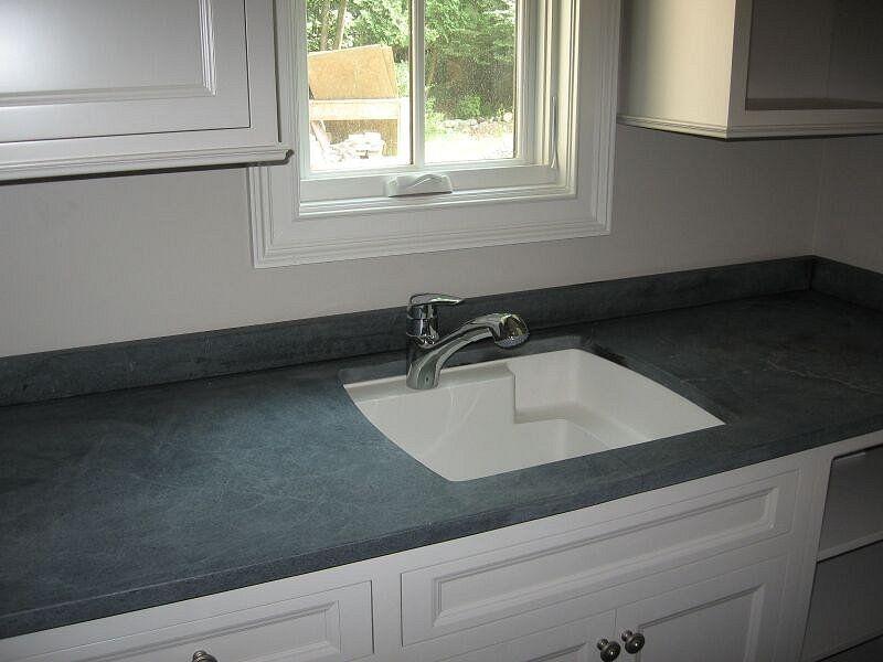 Custom Soapstone Countertop In Little Falls Nj The