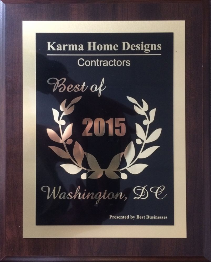 General contractor design build award wining in washington for Karma home designs