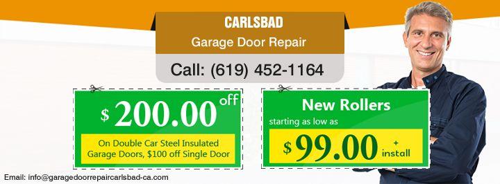 Garage door repair installation in carlsbad ca garage for Carlsbad garage door repair