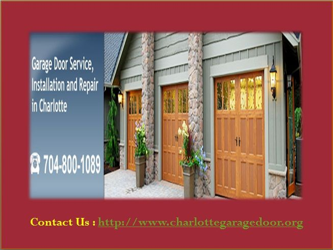 Garage Door Repair & Installation in Charlotte, NC ...