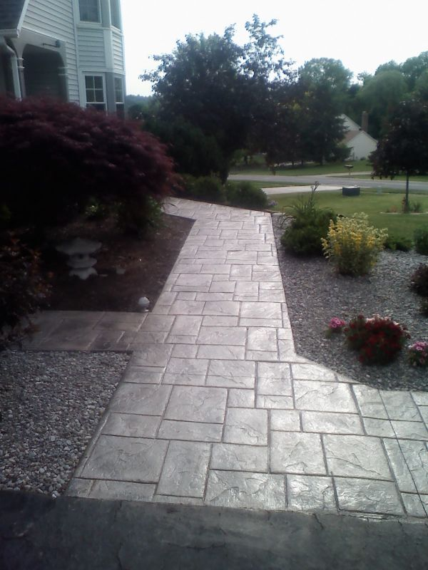Stamped Concrete Specialists In Livonia, NY