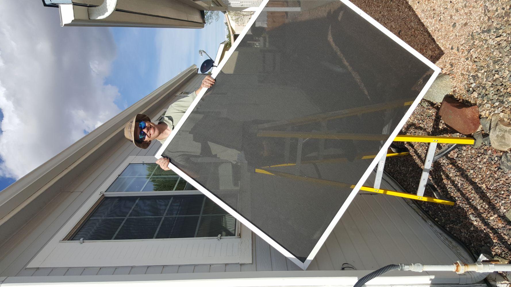 Window screen repair and installation in prescott valley for Home window screen repair