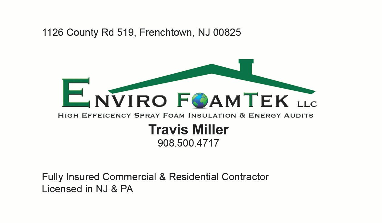 Spray Foam Insulation Services In Frenchtown Nj Enviro
