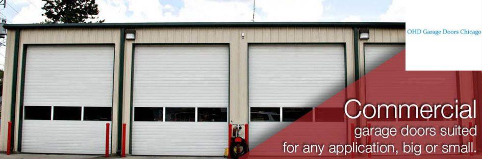 Garage door repair installation in chicago il ohd for Evergreen garage doors and service