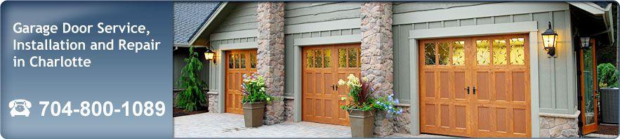 Garage door repair installation in charlotte nc for Garage doors charlotte nc