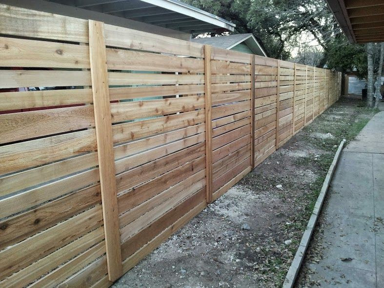 Related Keywords Amp Suggestions For Horizontal Fence Slats