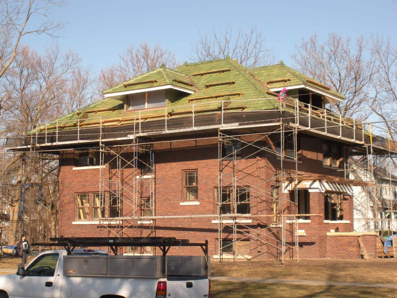 Tile And Slate Roofing Company In Chicago Il