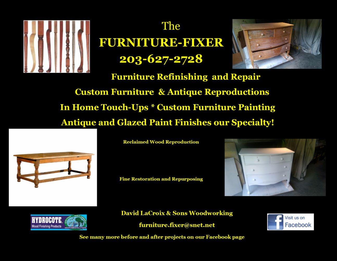... Furniture Repair In Branford Ct The Fixer ...