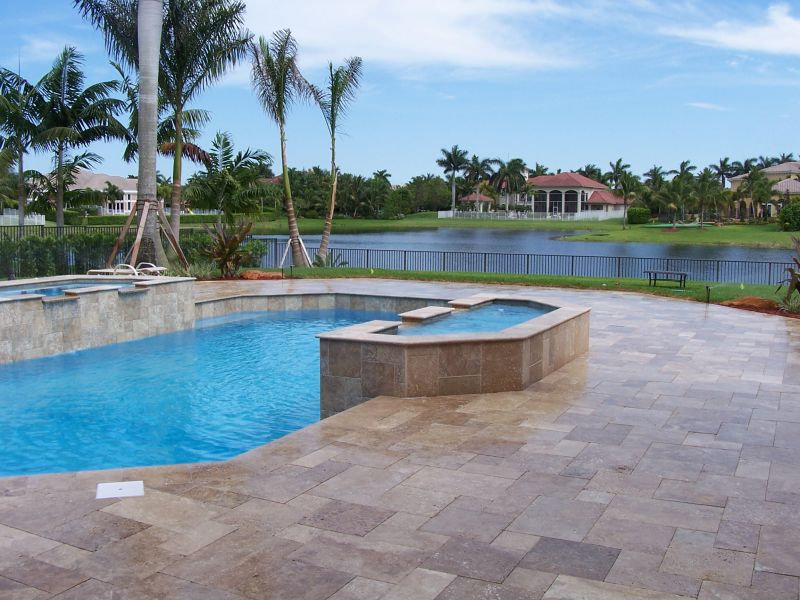 Pool and paver contractor in fort lauderdale fl for Pool design fort lauderdale