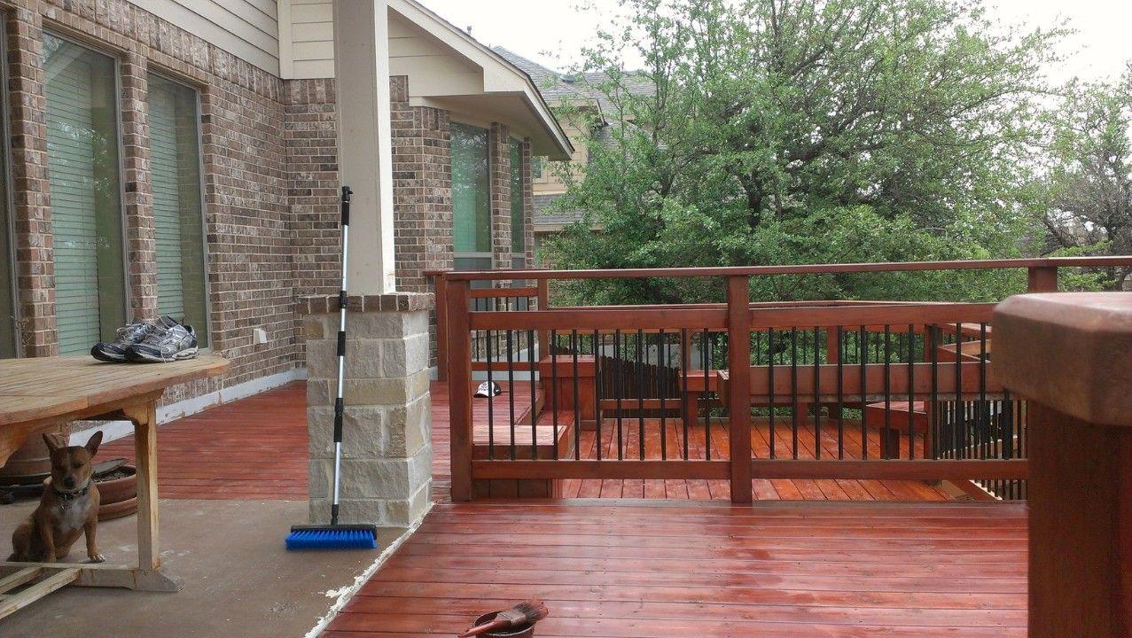 Affordable Deck Staining In San Antonio Tx U Buy I