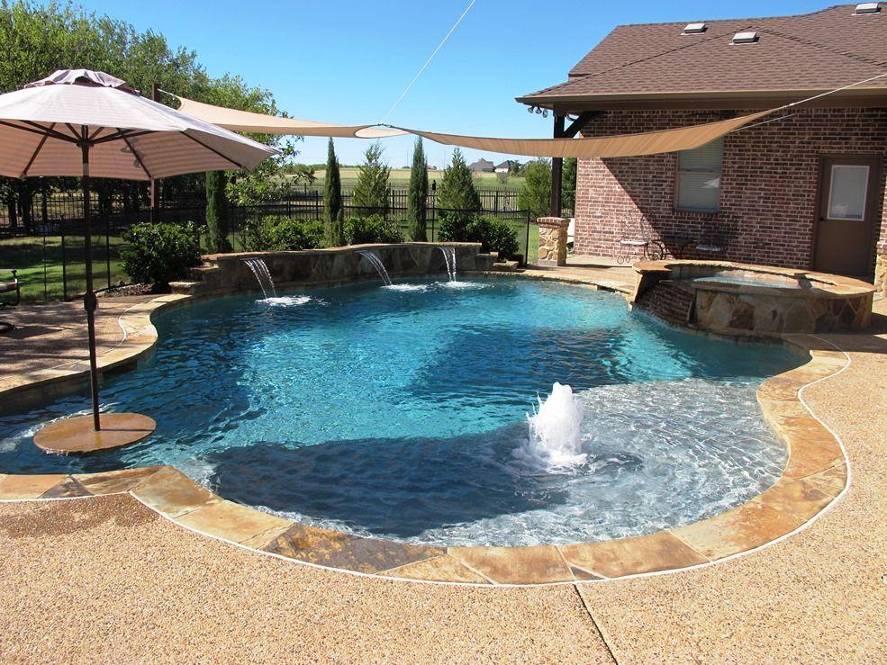 Pool And Outdoor Living Design Installation In Rockwall Tx Custom Outdoor Trends