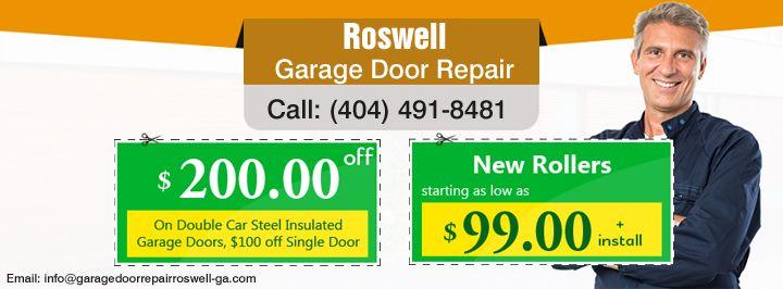 Garage door repair installation in roswell ga garage for Garage door repair canton ga