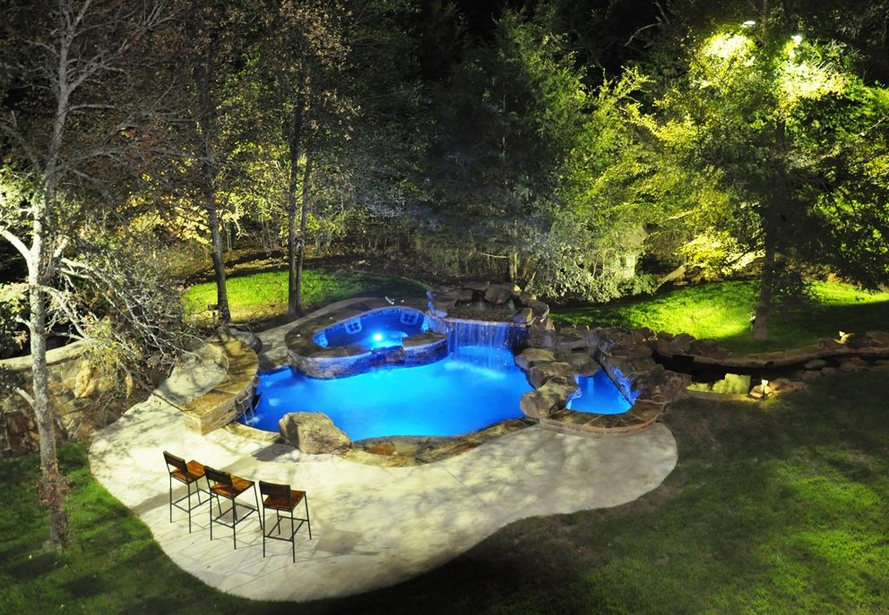 Pool And Outdoor Living Design Installation In Rockwall Tx Custom Outdoor Trends