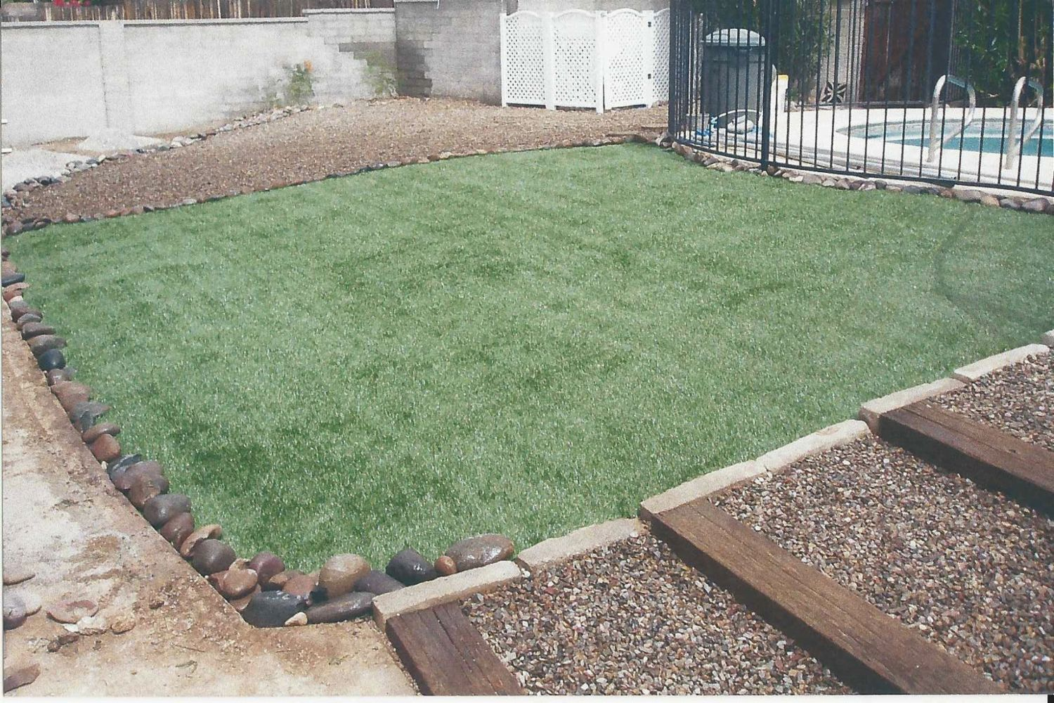 Outdoor repair services in tucson az a j landscaping for Landscaping rocks tucson
