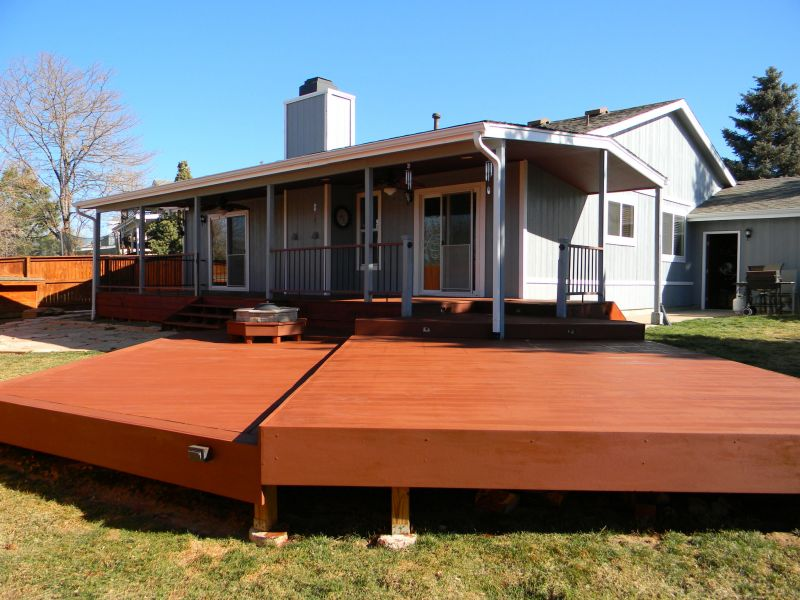 Deck Fence And Painting In Aurora Co The Superior Finish