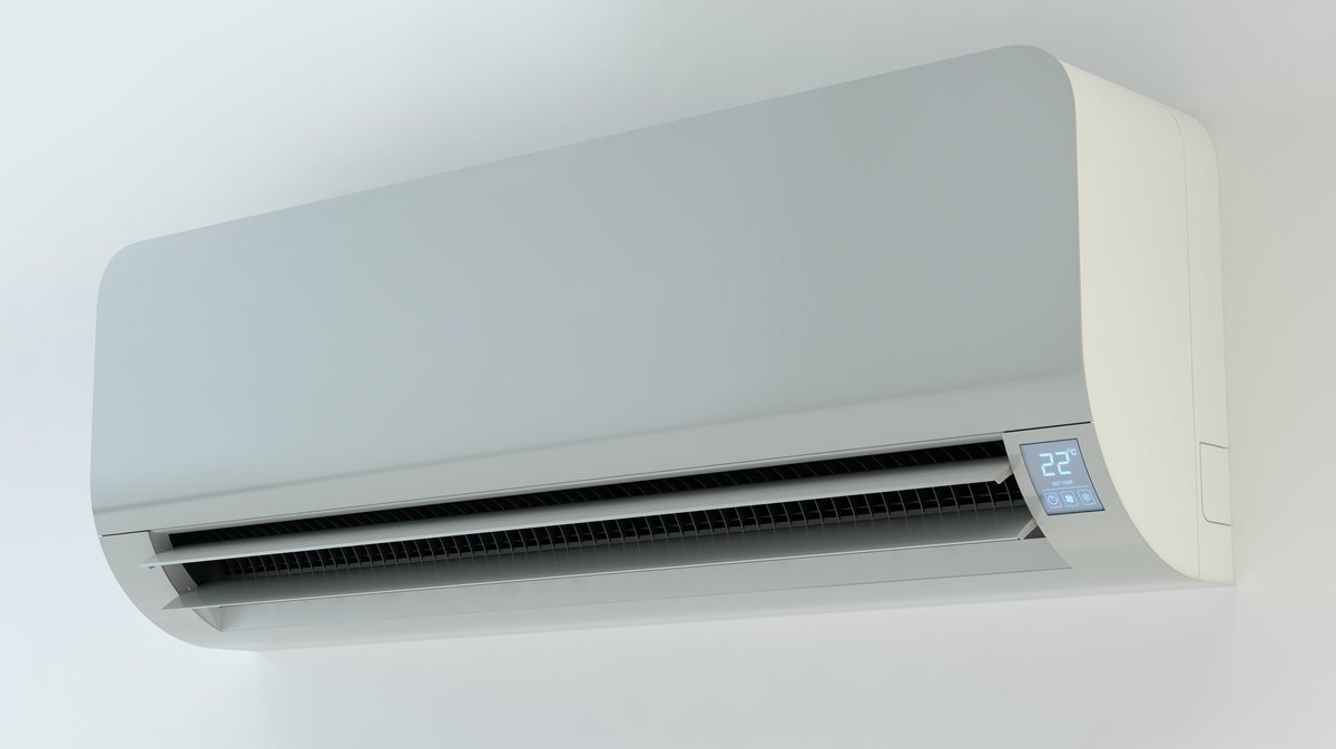 White air conditioner
