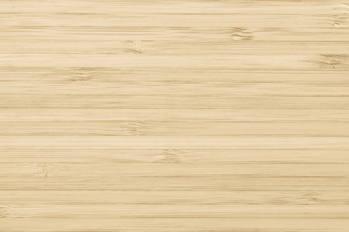 Bamboo floor in a light color