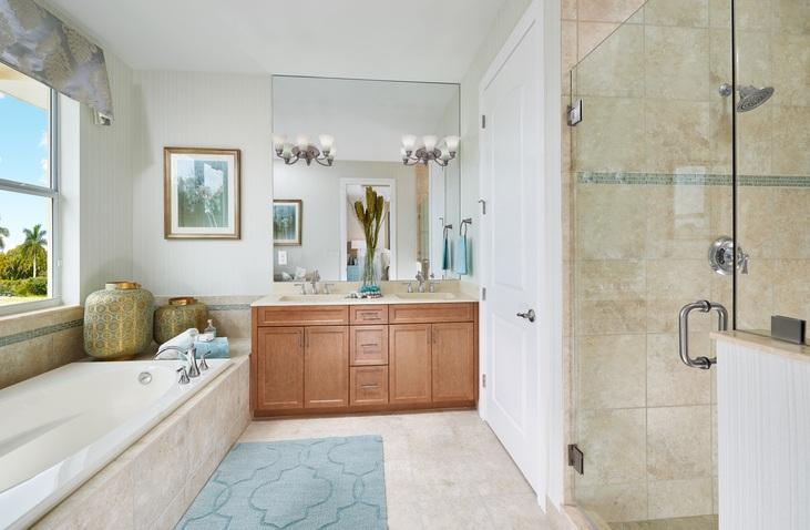 Beach bathroom design