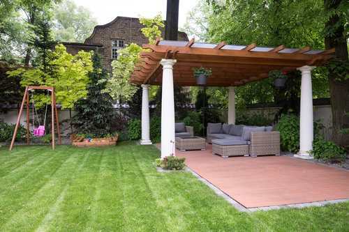 Cost to build a pergola estimates and prices at fixr for Average cost to build a pavilion