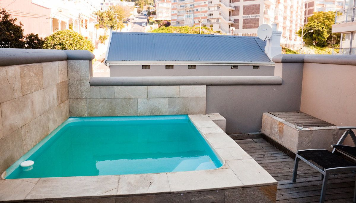 Private plunge pool in a terrace