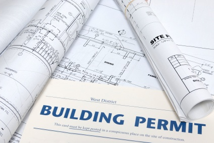 Building permits obtained from the town prior to starting construction, alteration or additions to existing structures