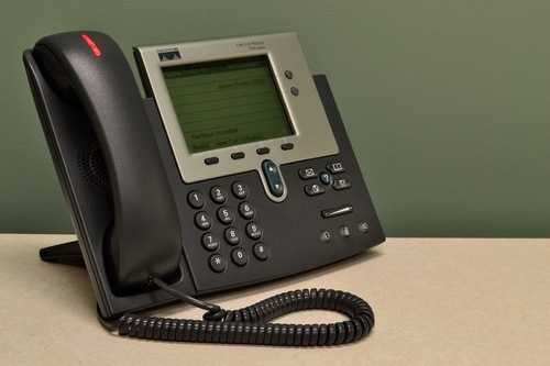 Digital or VOIP (voice over IP) phone system installed