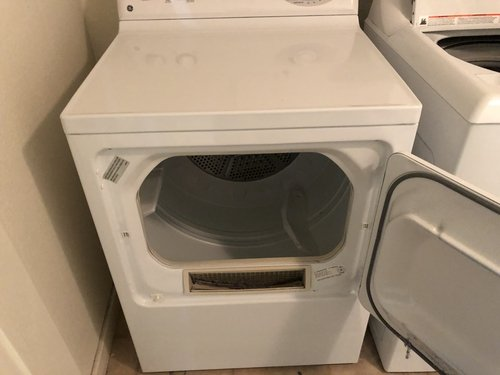 Close-up of a dryer
