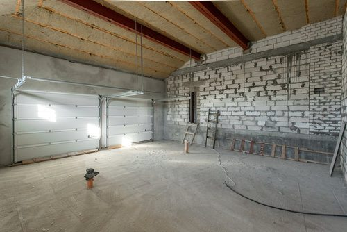 Interior Garage Remodeling Process
