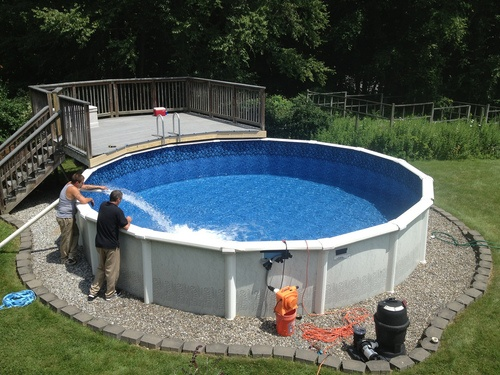 Cost To Build An In Ground Vinyl Swimming Pool Estimates And