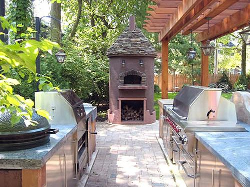 Cost to install an outdoor kitchen estimates and prices Outdoor kitchen cost estimator