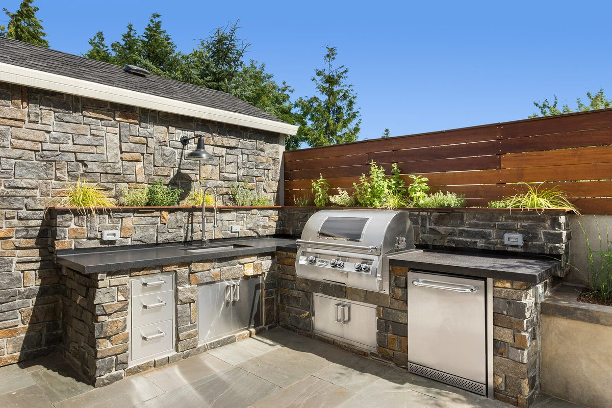 2021 Outdoor Kitchen Cost Cost To Build An Outdoor Kitchen