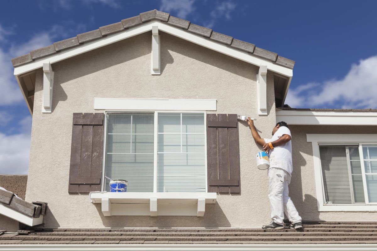 Cost To Paint The Exterior Of A House Exterior Painting Cost