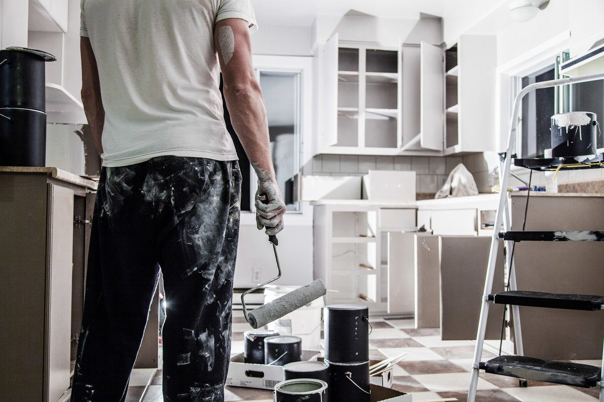 2020 Cost To Paint Kitchen Kitchen Cabinets And Doors