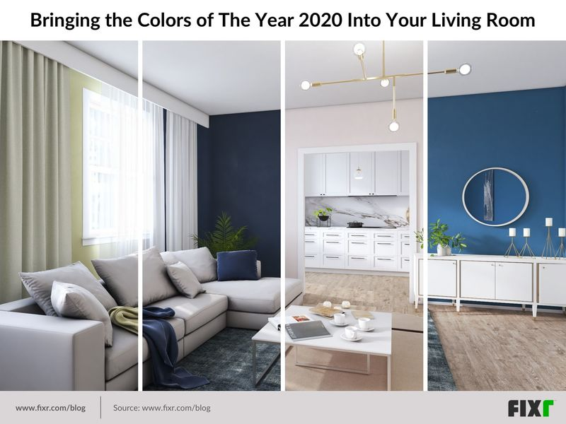 Your Guide to the Color of the Year 2020: Living Room Edition