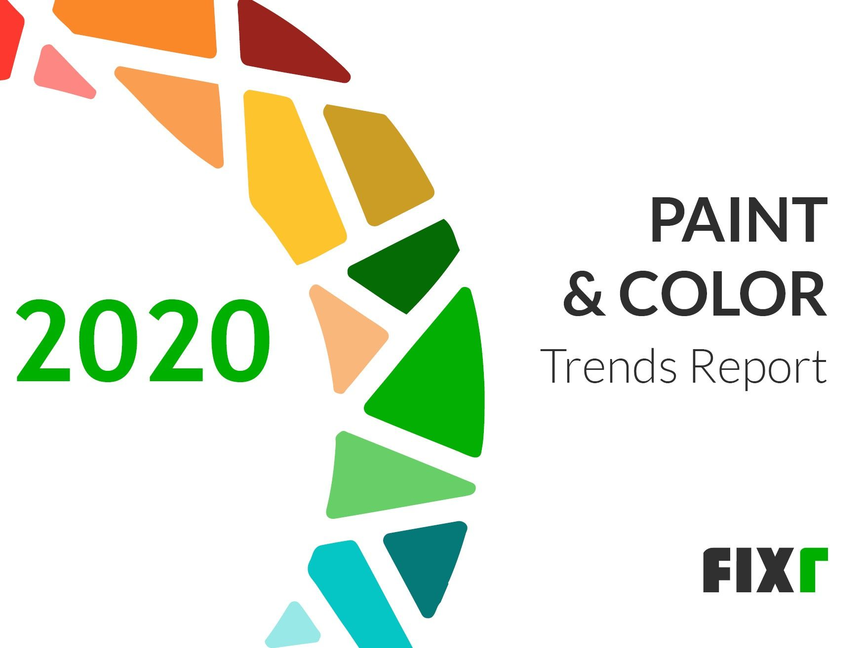 Paint and Color Trends in 2020