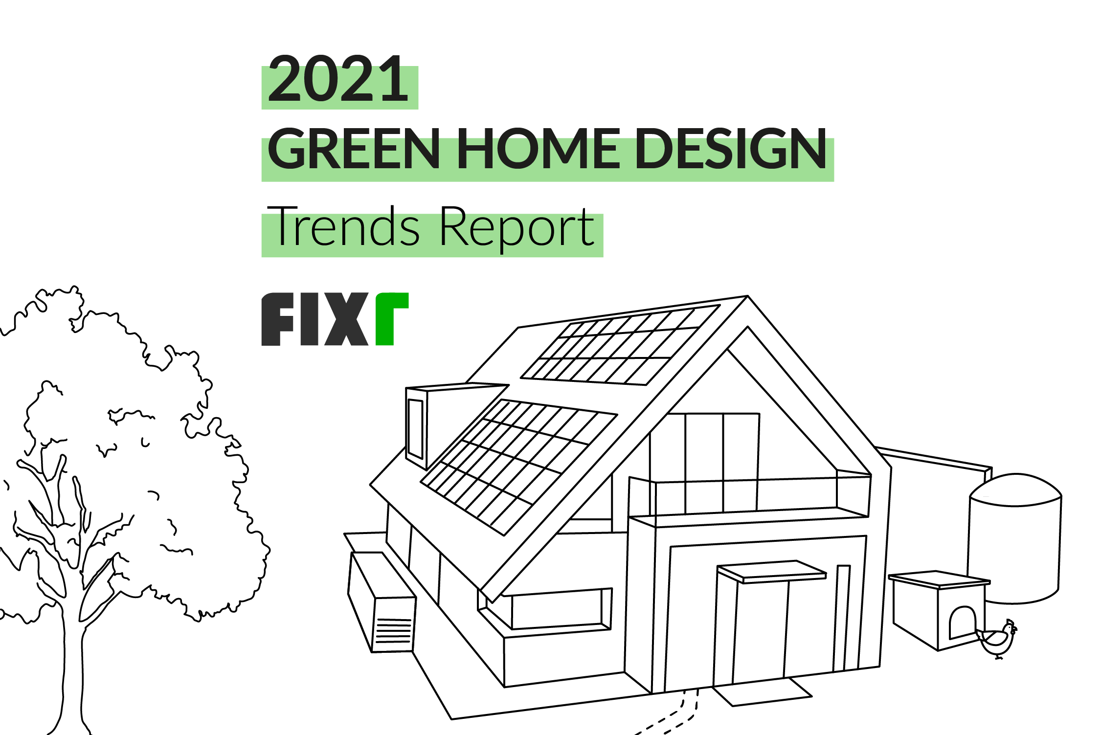 Sustainable and Green Home Design Trends in 2021
