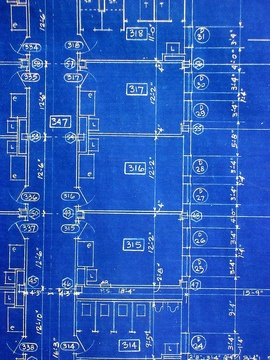 Cost to draft a home addition estimates and prices at fixr 1 blueprints a technical drawing of an architectural design traditionally these were made using a printing process that produced a white line on a blue malvernweather Image collections