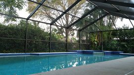 Cost to install a swimming pool enclosure estimates and - How much does the average swimming pool cost ...