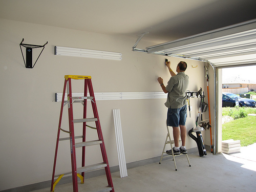 Cost to install a garage door opener estimates and for How much does a garage door repair cost