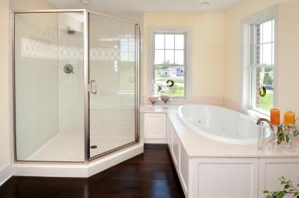 Cost to install shower estimates and prices at fixr for Bathtub material comparison