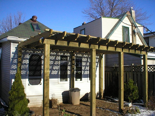Cost to build a pergola estimates and prices at fixr for Gazebo cost to build