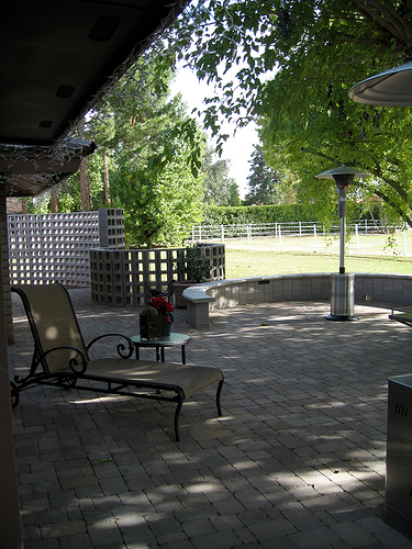 Cost to build a patio estimates and prices at fixr for Average cost to build a pavilion