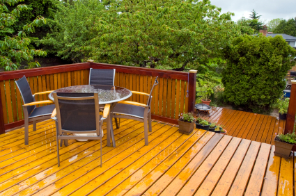 Cost To Stain A Deck Estimates And Prices At Fixr