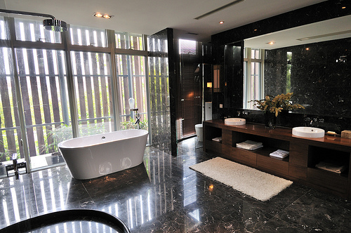 Cost To Remodel A Bathroom Estimates And Prices At Fixr Awesome Complete Bathroom Renovation Cost Collection